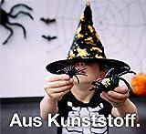 TK Gruppe Timo Klingler 20x Spinnen Set zu Halloween als Grusel Deko & Dekoration für Haus, Tisch & Garten - Spinnendeko - 2