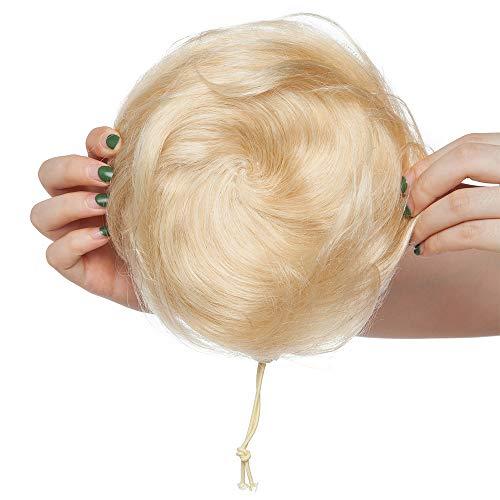 Włosy Scrunchies Buns Updo [#613 Bleach Blonde] (30 g)