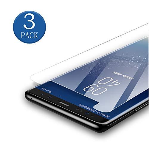 aiMaKE Panzerglas Schutzfolie Für Samsung Galaxy S7, [Anti-Kratzen][Blasenfrei],3 Stück Transparenz Panzerglasfolie für Samsung Galaxy S7