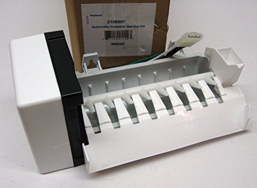 New Refrigerator Icemaker Ice Maker for Whirlpool Kenmore Kitchenaid 2198597 2198598, 626663, AP3182733, PS869316, W10190960 and W10122502