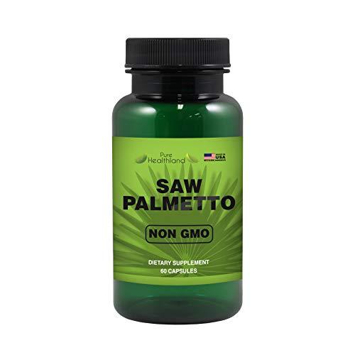 Reduzca la Micción Frecuente! Cápsulas de Saw Palmetto Palma Enana Americana No Transgénica para la Salud de la Próstata Masculina. Fórmula de Alta Calidad y Potencia de Apoyo a la Próstata