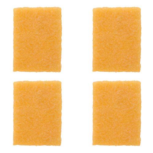 Angoily 4 Piezas Limpiador de Monopatín Goma Griptape Bloque de Limpieza de Monopatín Lijado Abrasivo Limpiador de Banda Goma de Borrar Lijadora Palo para Patineta de Zapatos (Caqui)