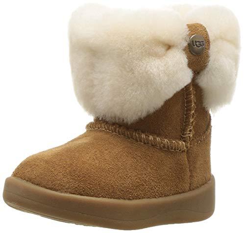 UGG Baby-Mädchen RAMONA Fashion Boot, Chestnut, 16 EU