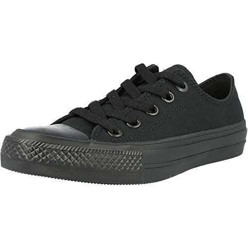 Converse Converse Chuck Taylor All Star II Ox Schwarz (Black Monochrome) Textil 35 EU