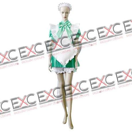 『【コスプレ】東京ミュウミュウ 風 碧川れたす メイド服 タイプ 衣装 女性用M』のトップ画像
