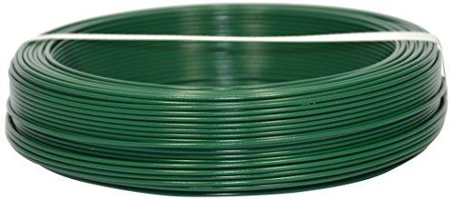 Corderie Italiane 002014089 Filo Ferro Plastica, Verde, 2.2 mm, 100 m