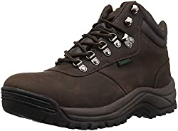 affodable Propet Cliff Walker Men's Hiking Shoes, Brown Crazy Horse, Width 10.5