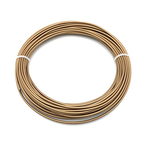 Metal- Red-Copper Filament (1.75mm, 25g, 190 ° C - 230 ° C) with premium quality for 3D printer MakerBot RepRap MakerGear Ultimaker etc. / also for 3D pens