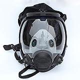 Full Face Gas Mask 6800 Facepiece Respirator Painting Spraying Chemical Laborat