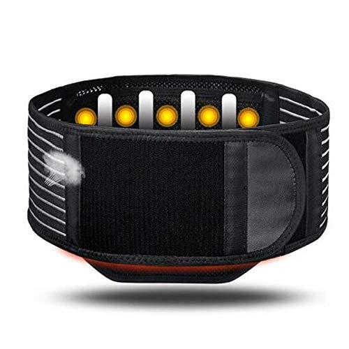 AOSTFOX Lendenwirbelstütze Rückenbandage Verstellbarer,Magnet Taille Mesh Körperformung Gürtel Magnetfeldtherapie Lordosenstütze,Lendenwirbelstütze Bauch Bandage Linderung Ischias,M