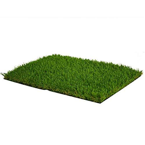 ZIYEYE 25mm Gazon Artificiel Haute Qualité Pas Cher Réaliste Naturel Astro Vert Faux Pelouse Jardin, Balcon Décoration Vert en Plastique Pelouse Jardin De Football Terrain (Size : 2mx1.5m)