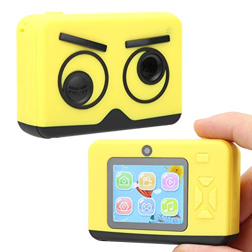 T opiky Cámara de Juguete para niños con Pantalla 2.0 IPS, Juego de Dibujos Animados HD 1080P / Learn Fun Cámara de grabación de Video para niños con 15 Pegatinas de Fotos y 10 filtros para el hogar
