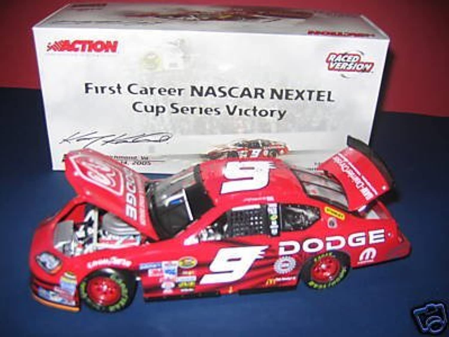 Kasey Kahne  9 Dodge 14 May 2005 Richmond Raced Win 1st First Win Version 1 24 Scale Action Racing Collectables ARC Limited Edition Only 9420 Made HOTO by Action