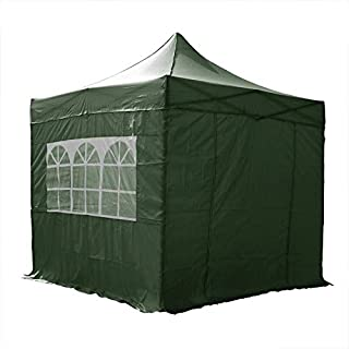 AIRWAVE 3x3m Waterproof Green Pop Up Gazebo - Stunning Outdoor Marquee Tent with 4 Leg Weight Bags & Carry Bag (B002882JRO) | Amazon price tracker / tracking, Amazon price history charts, Amazon price watches, Amazon price drop alerts