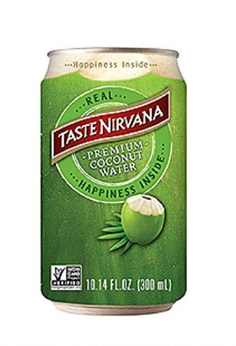 Taste Nirvana Real Premium Coconut Water, 10.14 Oz, Pack of 12 (ASINPPOSPRME1591)