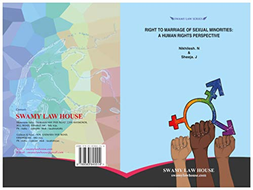 RIGHT TO MARRIAGE OF SEXUAL MINORITIES: A HUMAN RIGHT PERSPECTIVE: LGBTQ+ RIGHTS, HUMAN RIGHTS, TRANSGENDER, LESBIAN, GAY, BI-SEXUAL (English Edition)