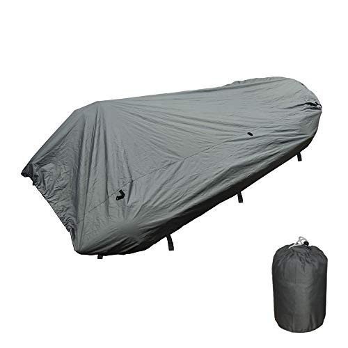 Seamax Inflatable Boat Cover, D Series for Beam Range 5.8' to 6.4' (FEET), 5 Sizes fits Length 12.2' to 16.5' (FEET) (D430 - Max Length 14ft)