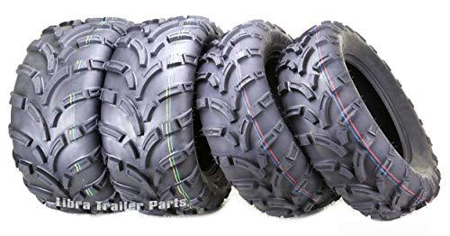 Set of 4 New WANDA ATV/UTV Tires 25x8-12 Front & 25x11-12 Rear /6PR...