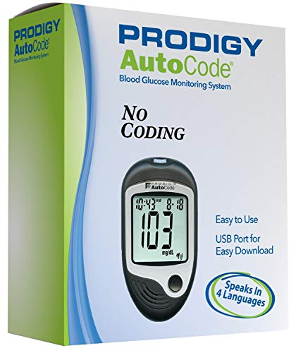 Prodigy - 38484051850 Autocode Talking Blood Glucose Monitoring Meter...