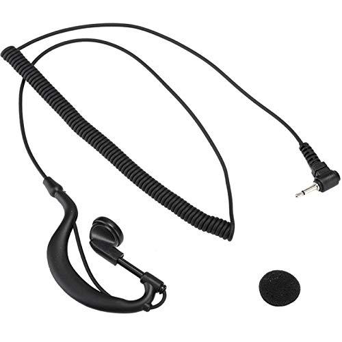 Mxzzand Auriculares con Gancho para la Oreja portátiles, duraderos y compactos, en Forma de G, fáciles de Ajustar 2.5 mm para Venta