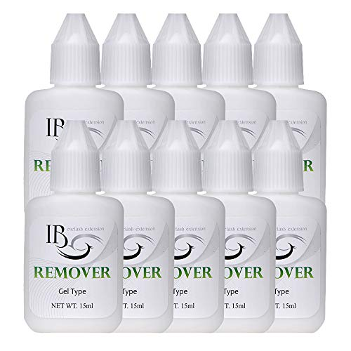 10 Bottles Eyelash Extensions Kit Ultra Adhesive Eye Gel Remover Professional For Individual Drafting Lashes Extensions Set Makeup Tools HPNESS