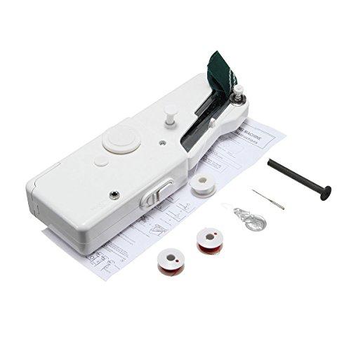 ExcLent Portátil Mini Electric Máquina De Coser Portátil Handy Stitch Diy Costura