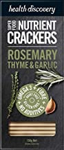 Health Discovery Rosemary Thyme and Garlic Nutrient Crackers, 150g