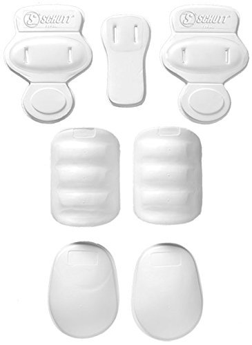 Schutt Youth Slotted 7-Piece Pad Set
