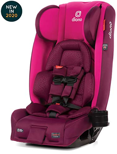 Read About Diono Radian 3RXT Latch All-in-One Convertible Car Seat, Purple Plum