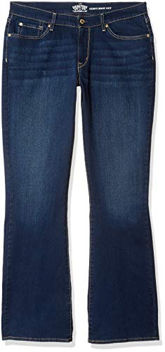 Signature by Levi Strauss & Co. Gold Label Women's Curvy Bootcut Jeans, Rev Up, 8 Long