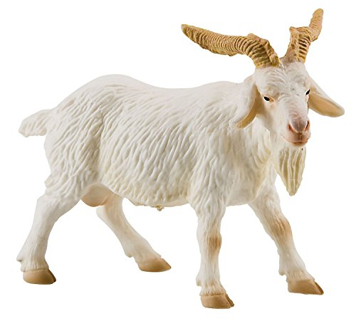Bullyland 62317 - Spielfigur, Ziegenbock, ca. 9,5 cm groß, liebevoll handbemalte Figur, PVC-frei, tolles Geschenk für Jungen und Mädchen zum fantasievollen Spielen