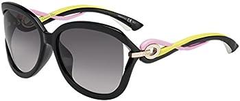 Dior Twisting Grey Square Ladies Sunglasses (DIORTWISTINGF JXG/EU 60)