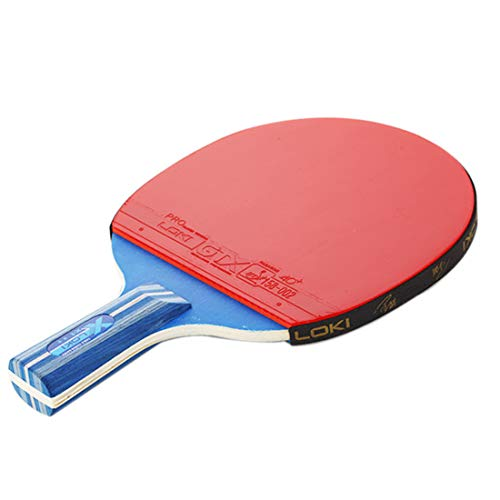 Lowest Prices! HUATINGRHPP Ping Pong Ping Pong Paddle Table Tennis Set, Ping Pong Paddle Set with Ra...