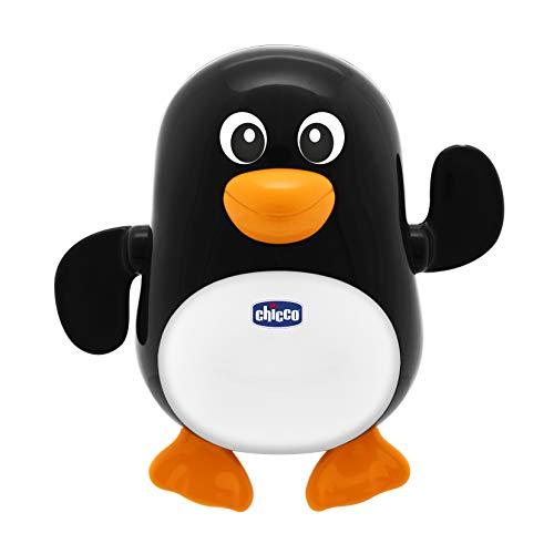Chicco Pinguino Nuotatore, Gioco Bagno Elettronico per Bambini,Il Pinguino Nuota Nell'Acqua, 6-36 Mesi