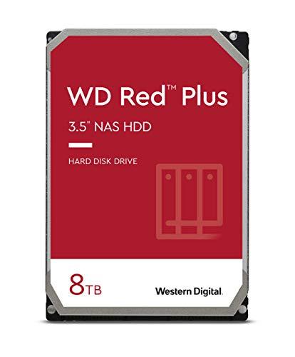 "WD Red 8TB NAS Internal Hard Drive - 5400 RPM Class, SATA 6 Gb/s, 256 MB Cache, 3.5"" - WD80EFAX"