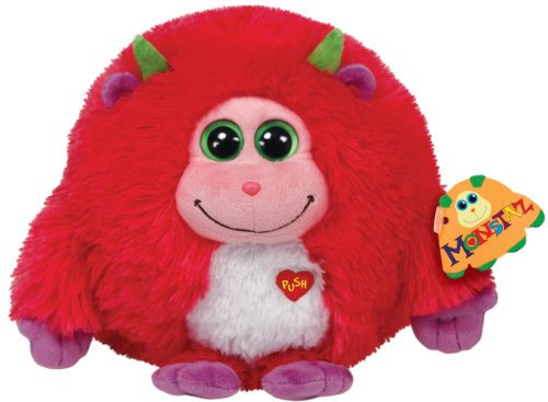 Ty Beanie - Monstaz Trixie mit Ton, rot