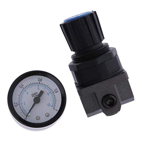 LHQ-HQ. Luftdruckregler Luftfilter Regler Öler 1/4 '' mit R200 Manometer