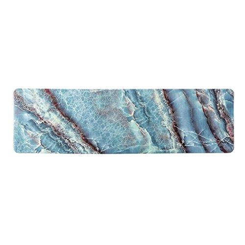 Kitchen mats Tapis de Cuisine met Amour Huile et PVC étanche de la Maison Tapis Sale Ménage Chambre à Coucher Lit Tapis, 45 * 120cm