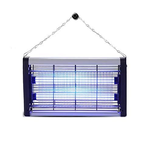 #Muggenlamp Mosquito Lamp Bug Zapper Indoor Fly Lamp insectenwerend middel Home Business zwangere vrouw de baby Mute LED Mosquito Killer Met Ketting (Color : 10W)