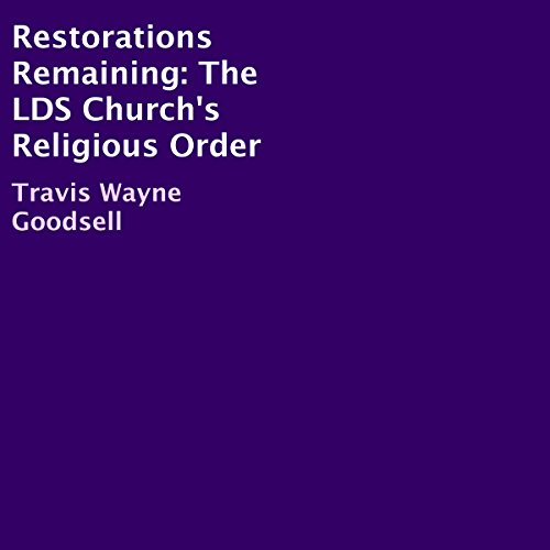 Restorations Remaining audiobook cover art
