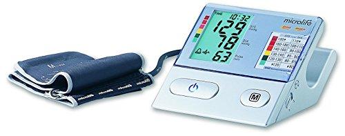 Microlife BP A100 Plus - Tensiómetro de brazo eléctrico, color blanco