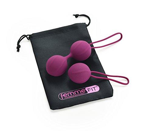 Kit D'allenamento Per Rafforzare e Tonificare il Pavimento Pelvico Tonifica i muscoli Kegel, migliora il controllo della vescica e incontinenza. Intimità migliorata. Approvato dai medici