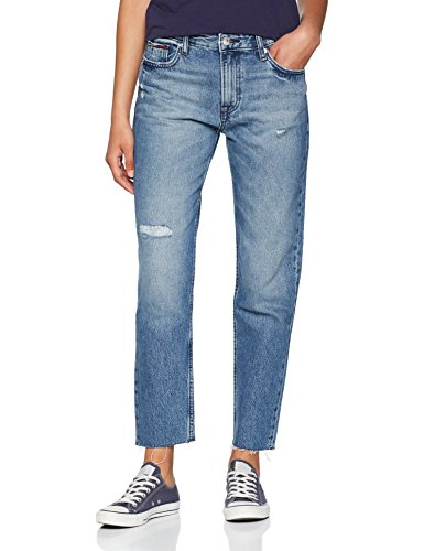 Tommy Jeans Damen High Rise Izzy Crop Slim Jeans, Blau (Orion Mid Blue Rigid 911), W31/L30