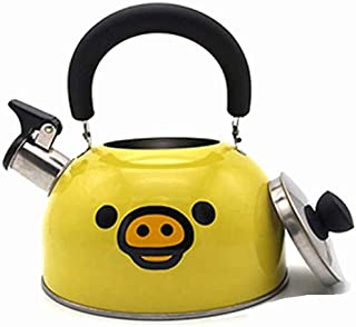 Whistling Kettle, Stovetop Kettles Stainless Steel Kettle Stove Kettles for Gas Hob Easy to Clean Suitable for All Hob Types