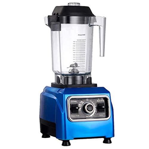 CCJW Masticating Juicer,Cold Press Juice Extractor,Commercial Milk Tea Shop Milkshake Blender, Household Broken Juice Milkshake Soy Milk Ice Machine, Easy to Clean-blue kshu