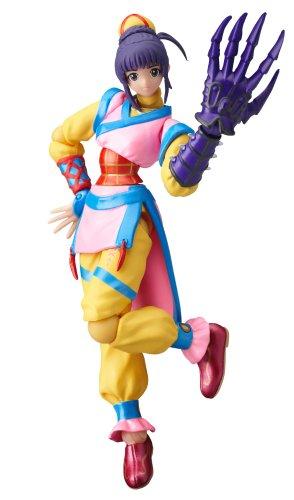 Street Fighter Online Tei-Ren He Tie Shou Revoltech SFO 002 Action Figure