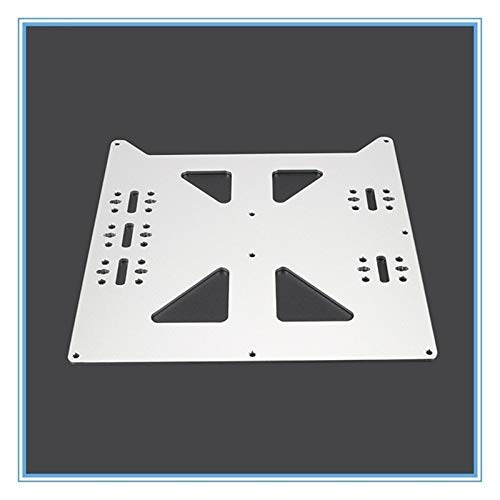 Printer Accessories V2 Aluminum Y Carriage Anodized Plate Upgrade Hot Bed Support Plate for Wanhao Prusa i3 RepRap DIY 3D Printer Parts Accessories 3D Printing Accessories