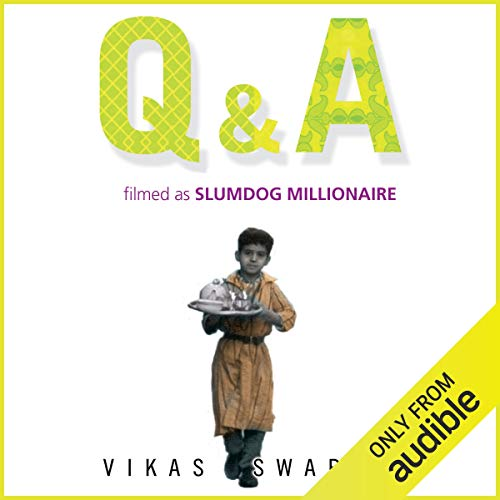 Q & A (filmed as Slumdog Millionaire) cover art