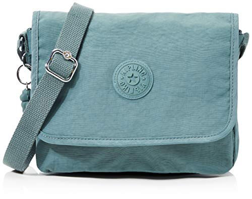 Kipling Nitany Women's Cross-Body Bag, Green (Light Aloe), 24.5x18x6...