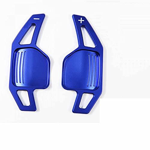 Ztxhsza para Audi A4 B8 A3 8P S3 A5 A6 S6 C6 Q5 A8 R8 TT TTS MK2 8J Avant Palanca de Cambios extensión de paletas de Volante de Coche Estilo DSG